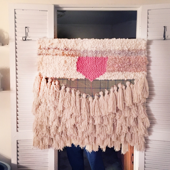 Distract Yourself From Debilitating Grief With a Ridiculous DIY Wall Hanging!